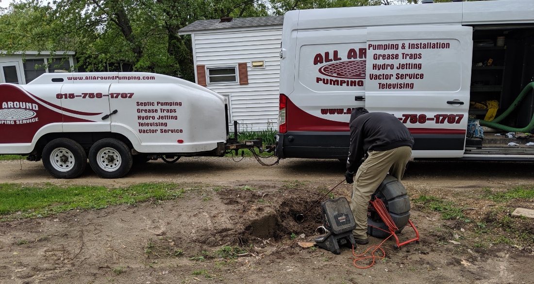 Sewer Cleaning in Monroe center, IL